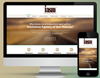 Insurance Agency of San Marcos Website