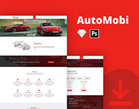 Freebie - AutoMobi Web Template