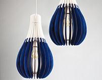 Wood Pendant Light / Nordic Ceiling Lamp / Dining LAMP