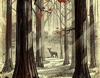 Narborion Saga - Fantasy Illustrations