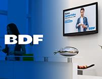 Producto audiovisual para sala de experiencia - BDF