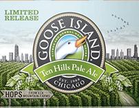 Goose Island Ten Hills Label by Steven Noble