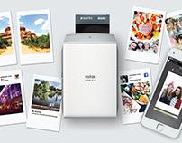 how to work Polaroid Printer