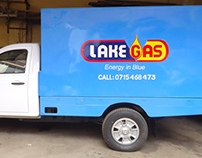 Lake Gas Pick up Branding