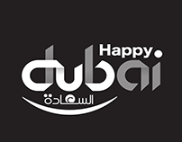 Happy Dubai logo Brand