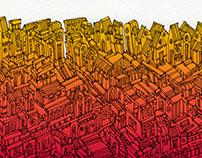 City in Technicolour