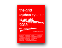 The Grid System is an aid, not a guarantee - Poster