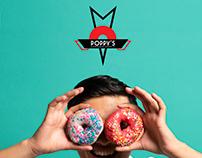 Poppy's Donuts Rebrand