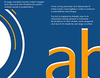 Contrasted Typeface