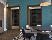 Interior Apartment_3d Visualization