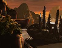 Sci-Fi Landscape