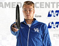 2016 Kentucky Men's Tennis Gameday Central Graphics