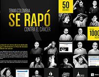 Rapados por Dharma (online campaign)