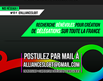 « Alliances LGBT » - Flyer