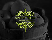 Spirit Tree Cidery Rebranding