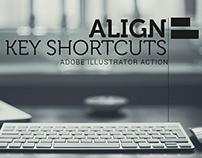 AI - Align Keyboard Shortcuts