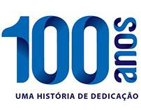 Logomarca 100 anos ACIF