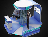 Money Fellows Activation Booth