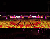 OMAN NATIONAL DAY // Stadium Projection