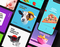 Box Vegan - Social Media
