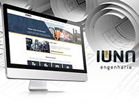 Site Institucional - Iúna Engenharia