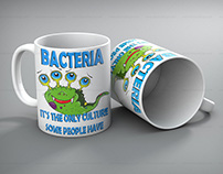 Mug sublimation design