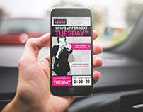 UI for T-Mobile Tuesday App