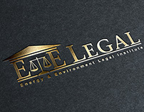 E&E Legal Logo Design
