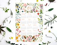 Flower calendar 2016