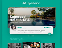 Tripadvisor - UI User Interface