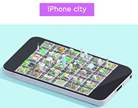 iPhone city