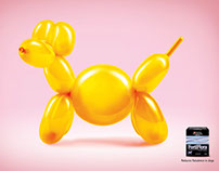 Nestlé Purina Balloon Dog