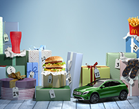 McDonald´s Advent calendar. Full CGI campaign.