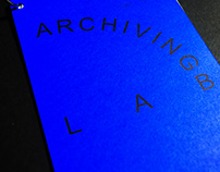 Archiving Lab