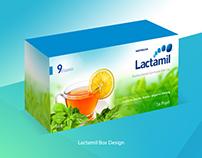 Lactamil Box Design