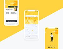 BVG App - Transit App design