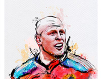 Rugby Player Illustrations