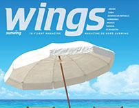 Sunwing's In-Flight magazine Rework