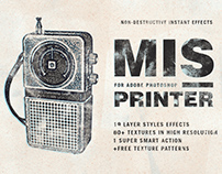 Misprinter for Adobe Photoshop - Free Effects Inside!