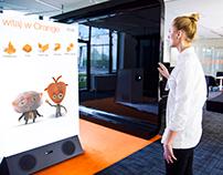 Orange / game interface