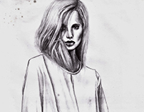 Fashion Illustration - YSL