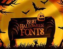 Top Halloween Fonts (40+ Fonts)
