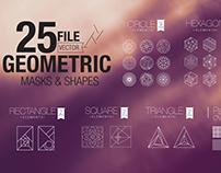 Vector Geometric Mask & Shapes