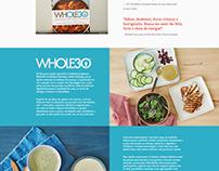 [Web Design] Whole30
