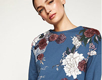 FLOWERS for SPRINGFIELD WOMAN AW17