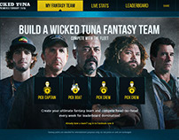Nat Geo: Wicked Tuna Fantasy Team Builder