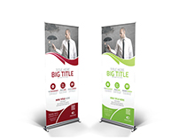 Multipurpose Corporate Roll-Up Banner