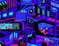 Illustration for Codemania 2020