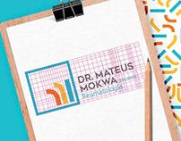 Identidade Visual Dr Mateus Mokwa Reumatologista