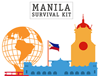 Manila Survival Kit Cover Design